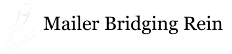 Mailer Bridging Rein